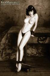 Ken Marcus Erotica Dita Von Teese at KenMarcus.com Bondage Solo Girl Fetish Model Fine Art Free Pictures Live Sex Shows